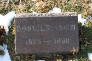 Matilda L. (MacElvey) Beerbower-Headstone. Posted with permission of photographer.