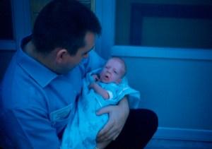Bob Lee and son, 01 JUN 1959.