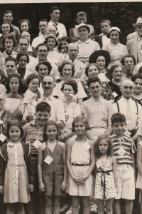 Fourth Annual Broida Family Reunion, July 11, 1937. Youngstown, Ohio. #7