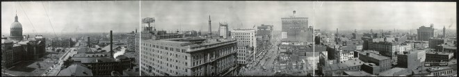 Indianapolis, Indiana, in 1914, just 5 years after the death of Jefferson Springsteen.