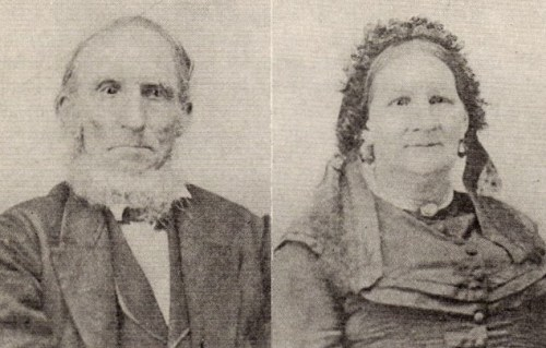 Franz Xavier Helbling (1800-1876) and his wife Mary Theresa Knipshield (1810-1891)