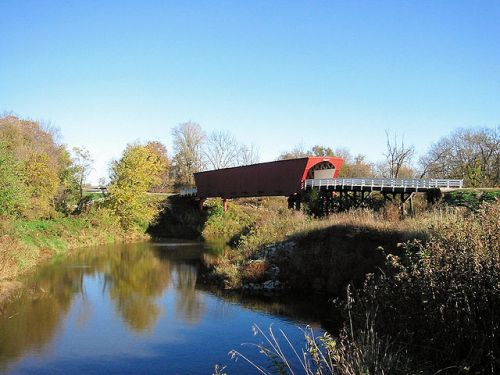 Roseman Covered bridge, Madison County, Iowa.