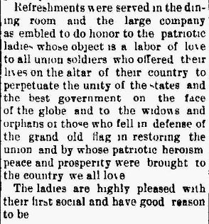 "S. T. and Irene PETERS BEERBOWER-GAR Social a ""Complete Success"" in The Marion Daily Star, 22 Jan 1895, Part 2."