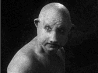 "Buster Brodie (Max Broida) as Pig Man in Paramount's 1932 film, ""Island of Lost Souls."""