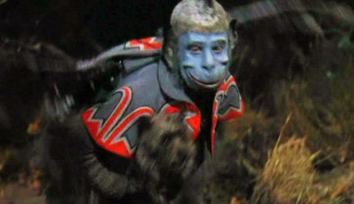 "Buster Brodie as a 'winged monkey' in the 1939 film, ""The Wizard of Oz."""