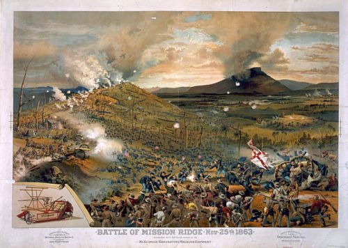 Battle of Mission [i.e., Missionary] Ridge