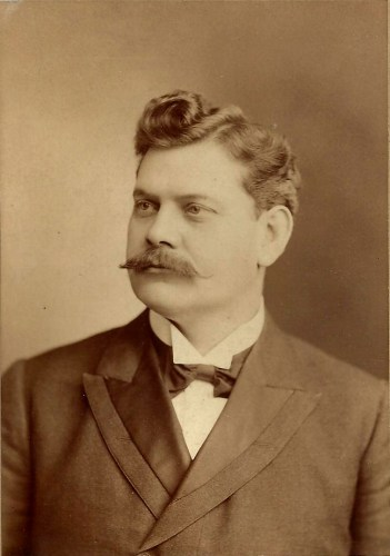Charles W. Clark in 1900, via Wikipedia, public domain.