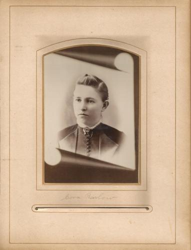 Cora Barlow- younger? from the Lloyd Roberts Family Photo Collection.