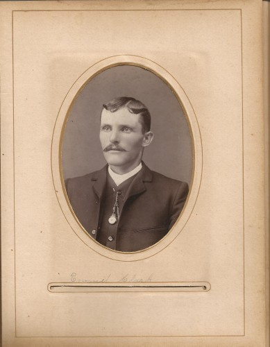 Emmit Clark from the Lloyd Roberts Family Photo Collection.
