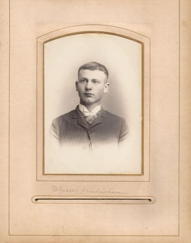 Ulysses Hendrickson from the Lloyd Roberts Family Photo Collection.