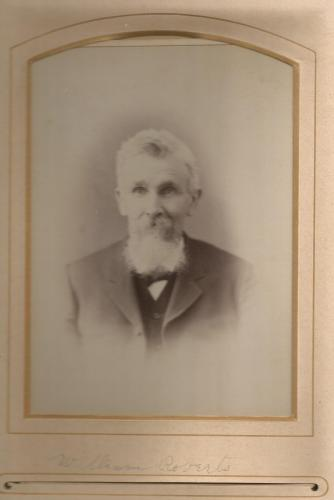 William Roberts (1827-1891), from a Roberts Family Photo Album.