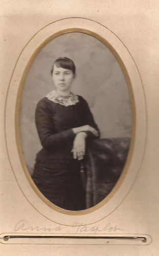 Anna Taylor, from the William Roberts Family Photo Collection.