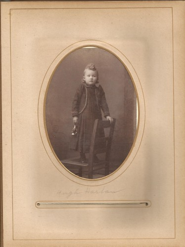 Hugh Harlan, from the Lloyd Roberts Family Photo Collection.