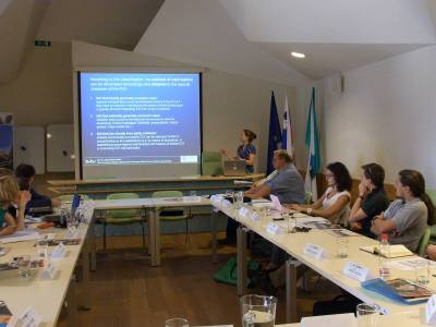 Project meeting in Bovec (Slovenia) in May 2012 (© Cultural Capital Counts)