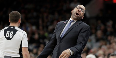 Memphis Grizzlies Head Coach fined $30,000