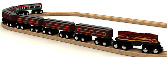 Conway Wooden Railway