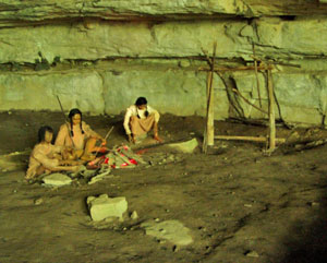 cave dwelllers circa 3000 bc Russell-Cave-66