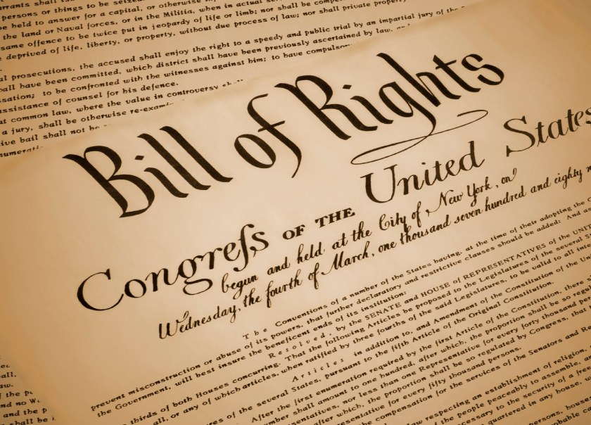 Bill of Rights enaces Herkimer NY drug dealers and child traffickers