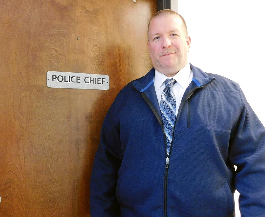 "New Herkimer Police Chief Jory Sees No Reason to ""Reinvent the Wheel"""