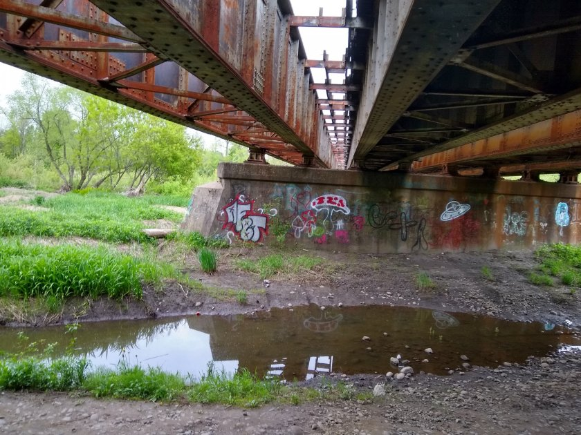 Herkimer Meth Bridge, sans Meth Encampment 5.20