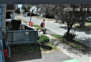 Km Vargas son Joel Jr. couriering drugs from Joe Handy's 328 Pleasant Ave Herkimer