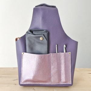 Beatrice Project Bag Front View Violet