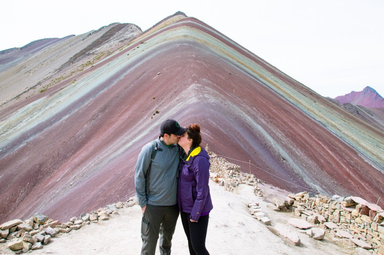 Rainbow Mountain Peru Peak