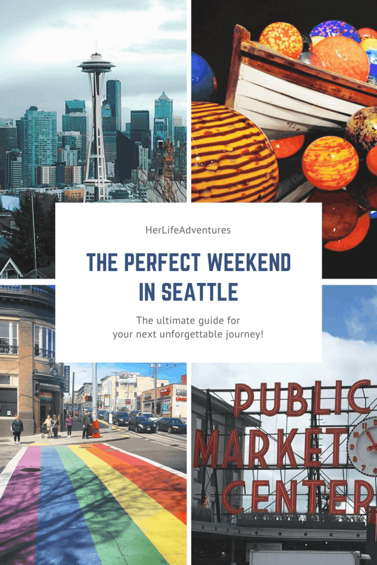 The Perfect Weekend Guide to Seattle- Everything you need to know for food, entertainment, accommodations + local favorites | Her Life Adventures | #seattle #weekend #guide #wheretoeat #wheretostay #whattodo #itinerary #washington