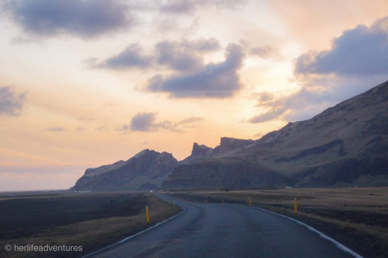 South Iceland road trip itinerary.