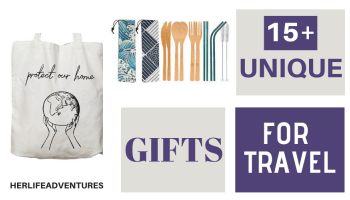 15 + Unique Eco Friendly Gifts for Travel | Her Life Adventures | #travel #gifts #unique #whattoget #bestgifts #present #ecofriendly