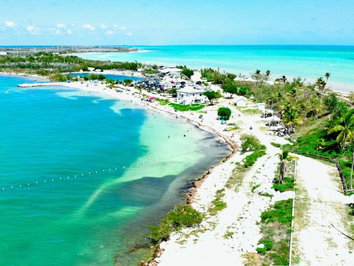 Florida Keys drone shot