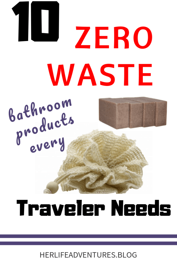 My favorite zero waste bathroom products to help you live a more sustainable lifestyle.