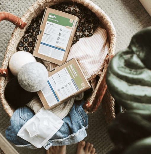 Unique Eco Friendly Travel Essentials; gifts; environmentally friendly; zero waste; dropps cleaning pods