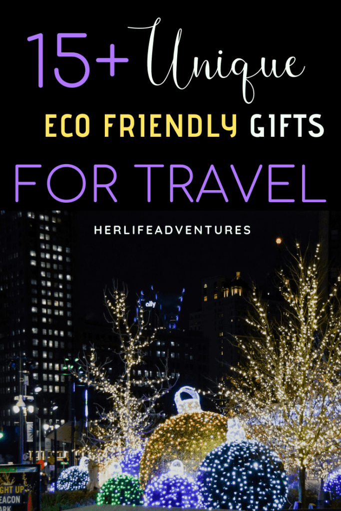My Eco Friendly Gifts list is great for travelers and other sustainability supporters. Let's help to minimize carbon footprints globally with these 15+ Unique Eco Friendly Gifts!