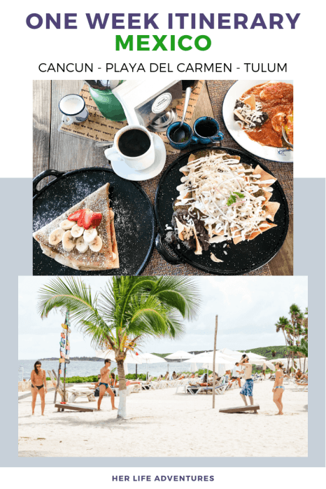Adventurers Guide to 1 Week in Tulum - Discover where to eat, where to stay, and adventures such as Scuba diving, snorkeling, kayaking and more! Quintana Roo Mexico #mexico #travel #mexicopacking #wheretostay #hiddengem #vacation #travelguide #adventure #traveltips #northamerica #traveldestinations  #bestbeach #cenote #adventure