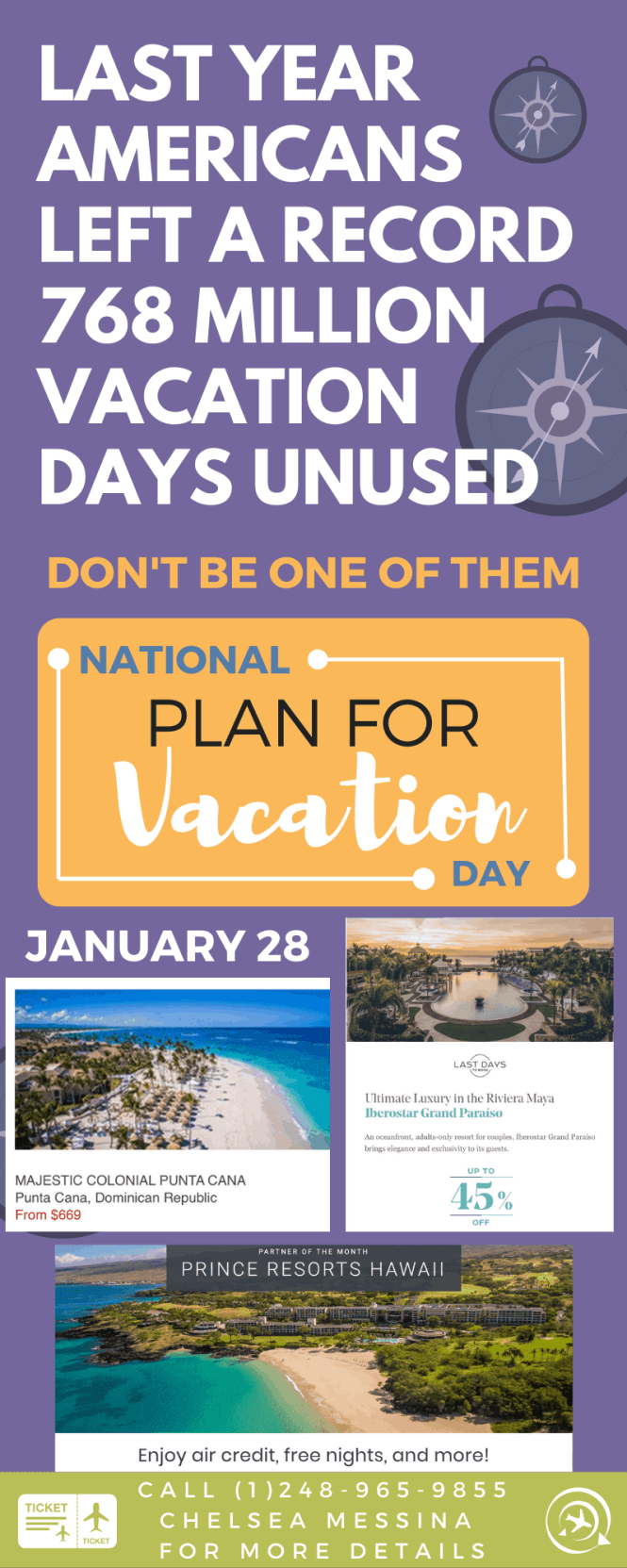 """Uniworld River Cruise Deals & Promotions It's """"National Plan a Vacation Day""""! Book now with your travel advisor Today is National Plan a Vacation Day, and according to our research travel advisors save 3.5 hours in planning time and over $400 per trip on average."""