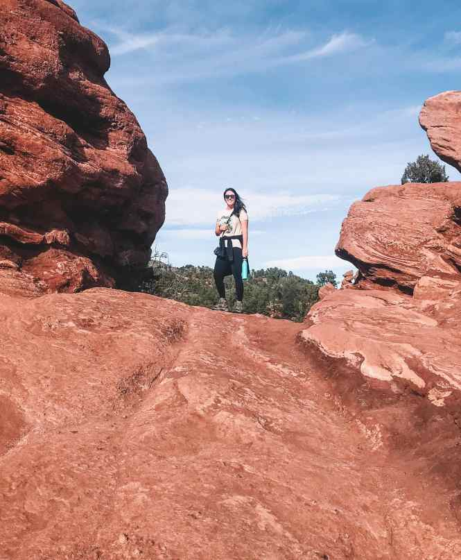 Colorado Springs hike in Garden of the Gods