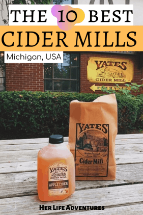 The 10 Best Cider Mills in Michigan you can't miss when visiting the Great Lakes State