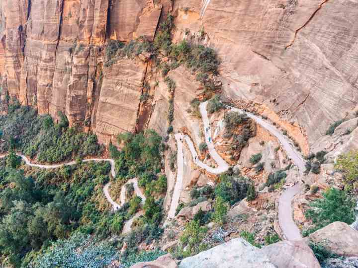 Hike angels landing in Zion National Park for an adrenaline pumping, extraordinary adventure