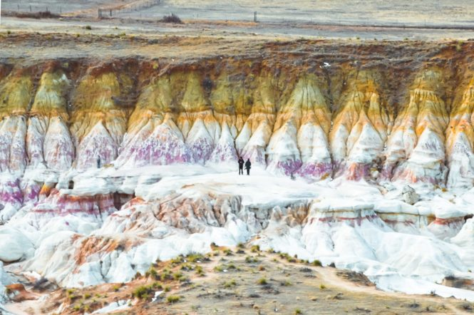 The adventure guide to Colorado's paint mines interpretive park, just outside of Colorado Springs. #coloradosprings #openspace #paintmines #interpretivepark