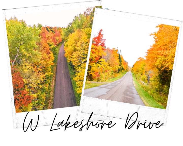 The best Michigan fall color road trip itinerary. Including W Lakeshore Drive in the Upper Peninsula. #roadtrip #michigantravel #falldrive