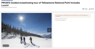 Tours from Big Sky to Yellowstone