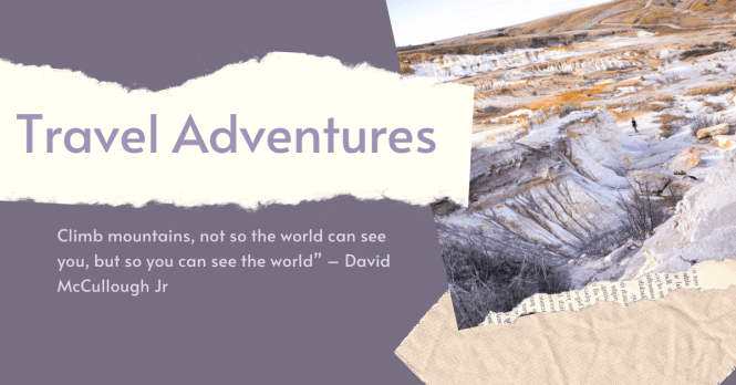 Plan your next travel adventure here. Guides, Itineraries and more for adventure vacations supporting sustainable travel practices.