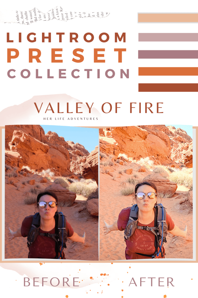 Valley of Fire Preset Collection