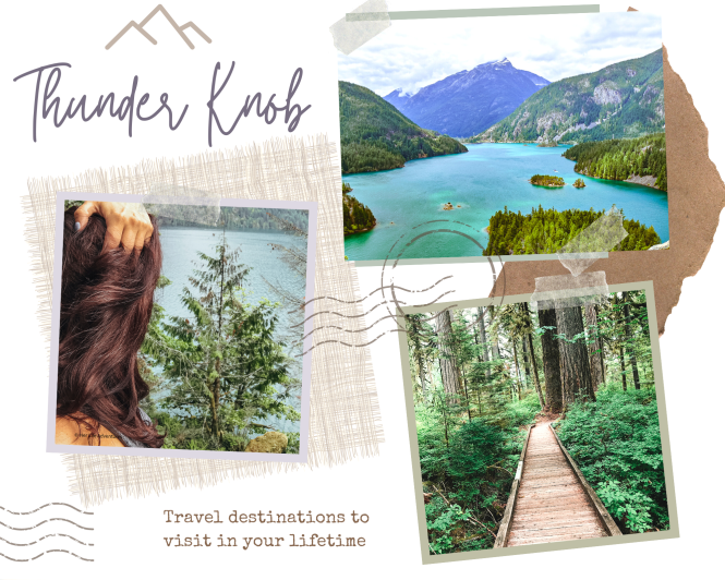 Top 10 hikes in North Cascades National Park - Rainy Lake Trail Thunder Knob hiking trail in Ultimate Guide to North Cascades National Park | Weekend Guide | Hiking | Camping | Adventures | Things to do