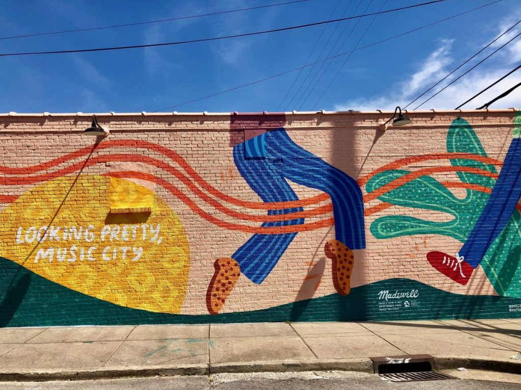 Looking Pretty, Music City Mural | The Instagrammers Guide to Nashville Murals