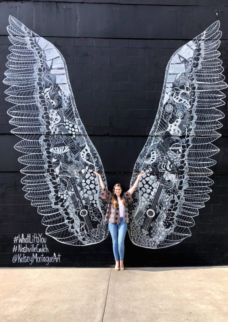 Kelsey Montague's #WhatLiftsYou | The Instagrammers Guide to Nashville Murals