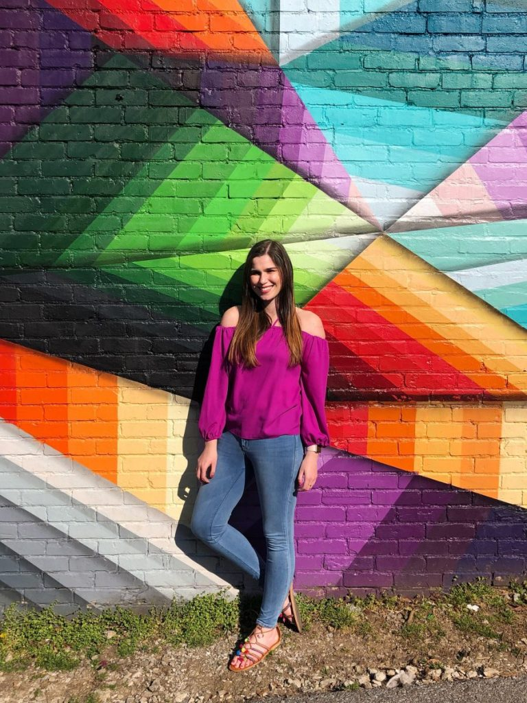 Google Fiber Mural at Five Points Pizza   The Instagrammers Guide to Nashville Murals