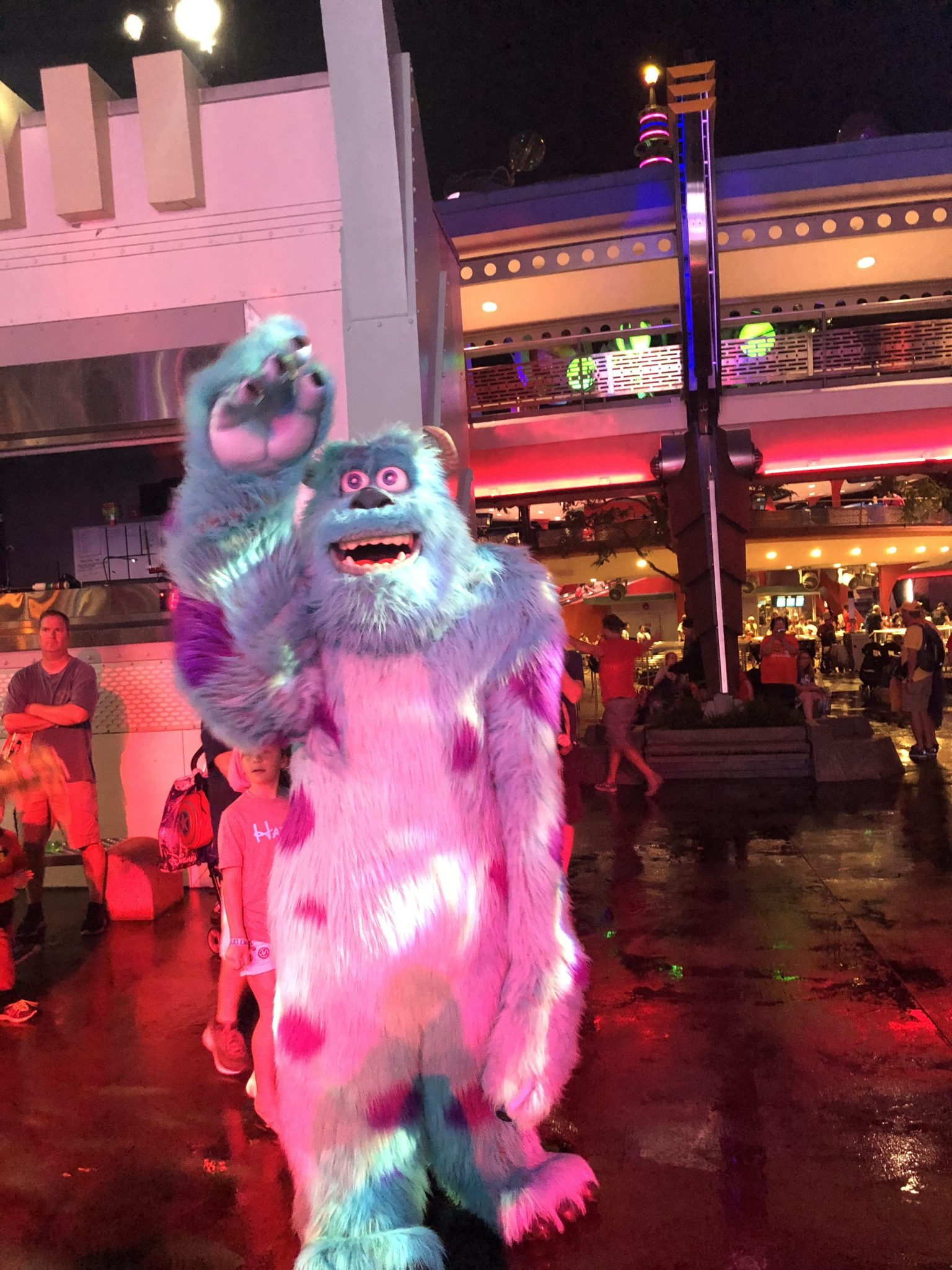 Sully dancing | Mickeys Not So Scary: Disneys Spookiest Party | www.herlifeinruins.com