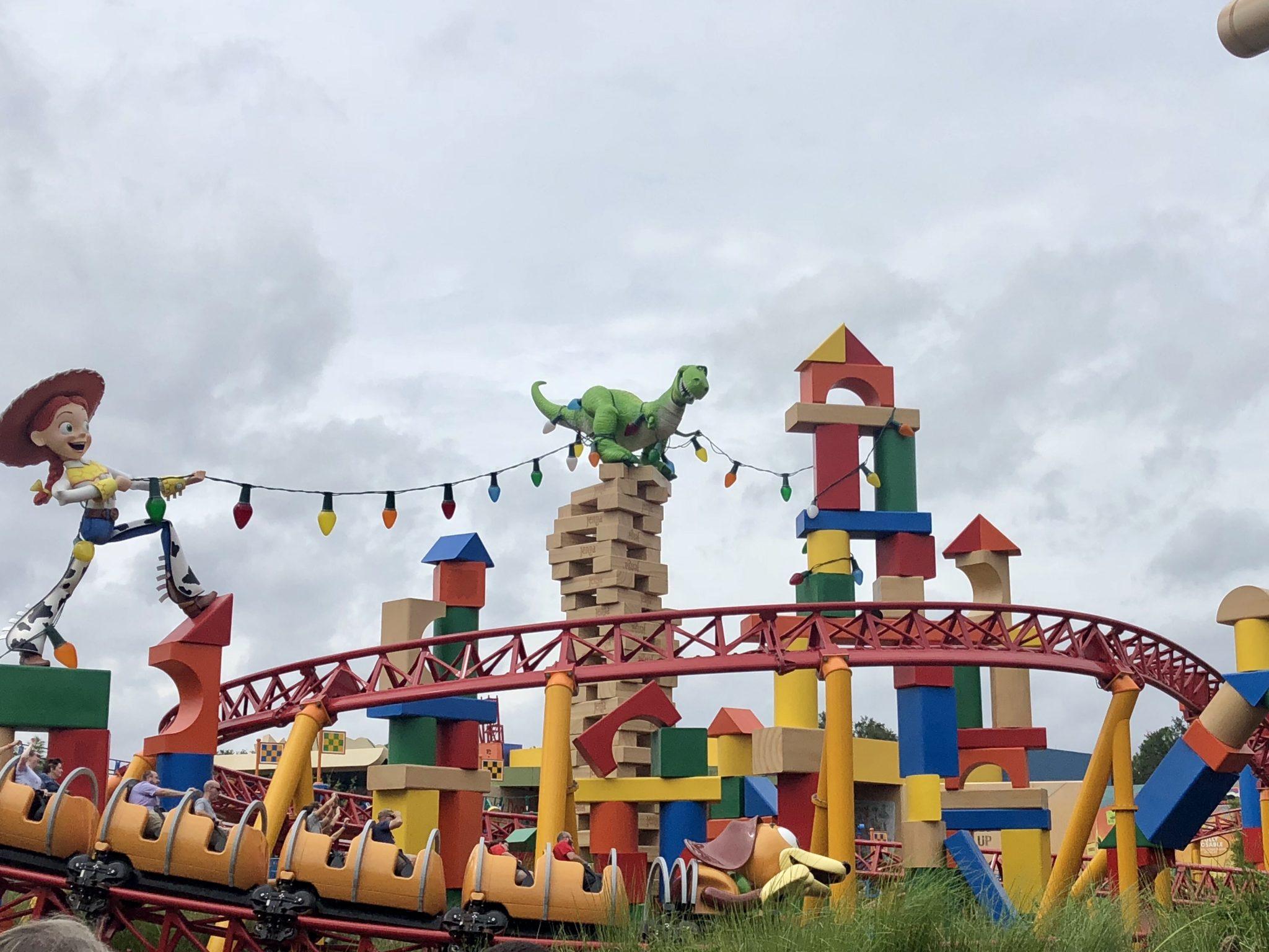 Slinky Dog Dash at Toy Story Land